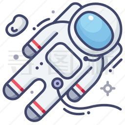 宇航员图标