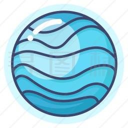 海王星图标