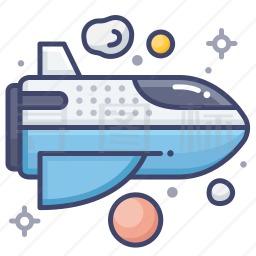 宇宙飞船图标