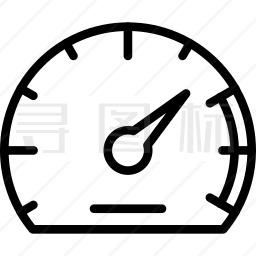 仪表盘图标