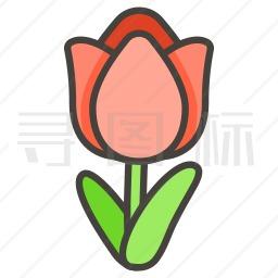 郁金香图标