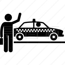 打出租车图标