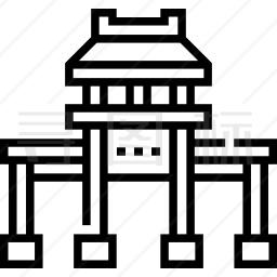 唐人街图标