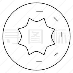 甜甜圈图标