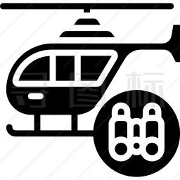 直升机图标