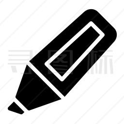 荧光笔图标