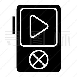 MP3播放器图标