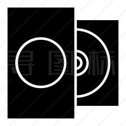 影碟机图标