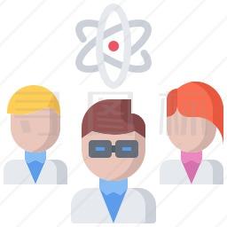 科学家图标