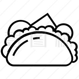 玉米饼图标