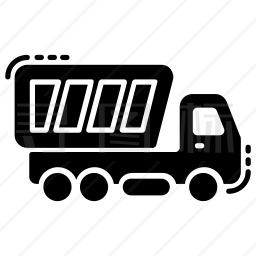 自卸车图标