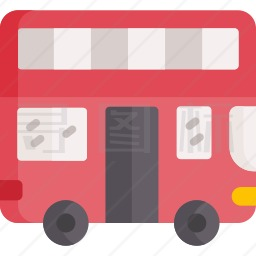 双层公共汽车图标