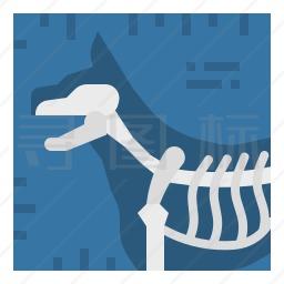 宠物X射线图标