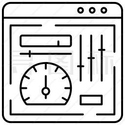 仪表板图标