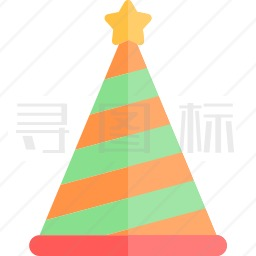 生日帽图标