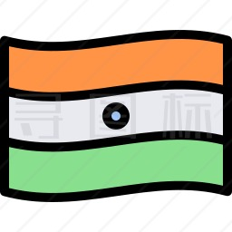印度旗帜图标