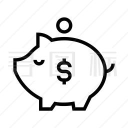 存钱罐图标