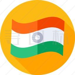 印度国旗图标