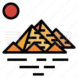 金字塔图标