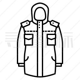 冬季制服图标