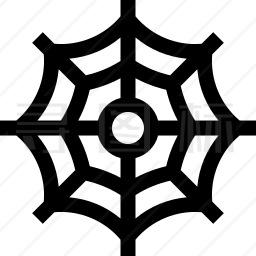 蜘蛛网图标