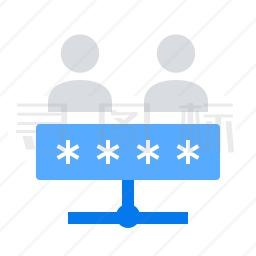 共享密码图标