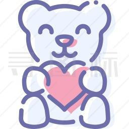 泰迪熊图标