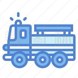 消防车图标