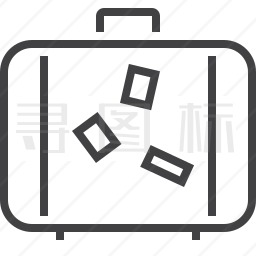 手提箱图标