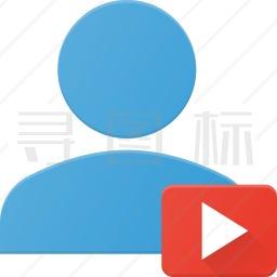 用户视频图标