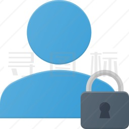 用户锁定图标