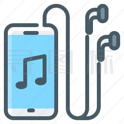 手机音乐图标