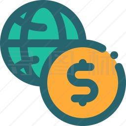 国际货币图标