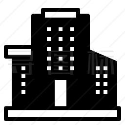 办公楼图标