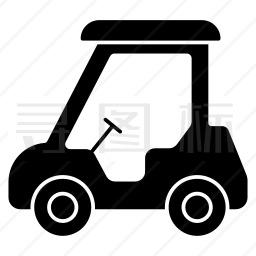 高尔夫车图标