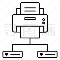 印刷工图标单色个最新icon图标免费批量下载 有svg Png Eps格式 寻图标
