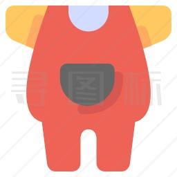 宝宝衣服图标