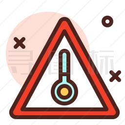 温度警告图标