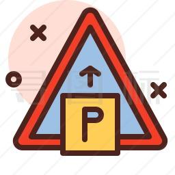 停车标志图标