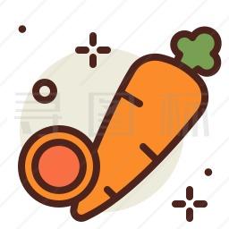 胡萝卜图标