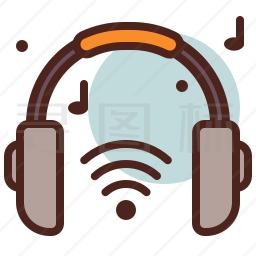 无线耳机图标
