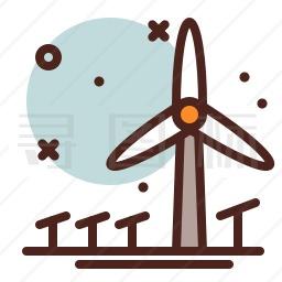 风力发电机图标