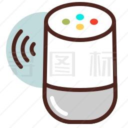 智能音箱图标