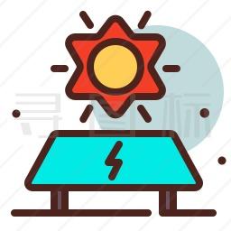 太阳能面板图标