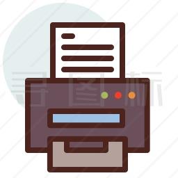 打印机图标