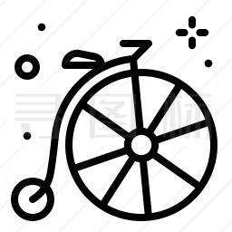 异性自行车图标