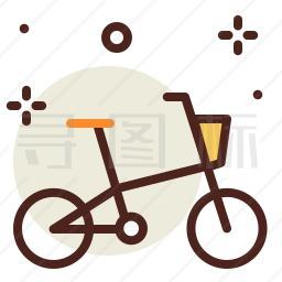 自行车图标