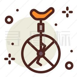 单轮车图标