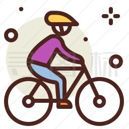 骑自行车图标