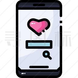 手机搜索图标